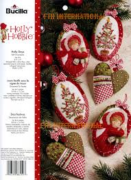 felt christmas ornaments 12 days of christmas bucilla felt ornament kit 86066 fth studio