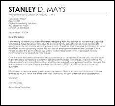 sample professional two week notice letter professional resumes