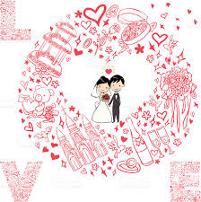 card from to groom wedding card with groom and the stock vector more