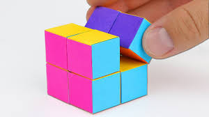 cara membuat instagram renhard how to make an infinity cube out of paper youtube