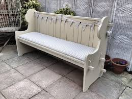 Shabby Chic Used Furniture by Shabby Chic Pew Benches Furniture Ideas Pinterest Shabby
