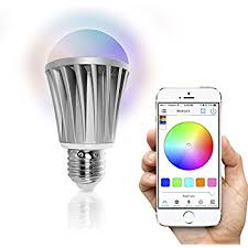 magiclight bluetooth smart light bulb 60w equivalent wake up