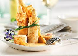 breton en cuisine breton crêpes with white asparagus