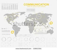 polygonal world map global travel geography stock vector 321432080