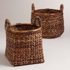 Rattan Baskets by Apartments Exciting Braided Rattan Brittany Baskets Design Ideas