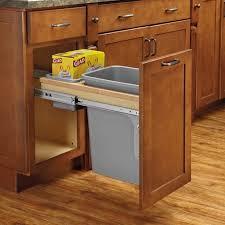 Kitchen Trash Can Ideas Oak Wood Sage Green Madison Door Kitchen Trash Can Ideas Sink