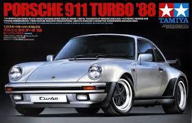 porsche 911 model cars tamiya porsche 911 turbo 88 model kit