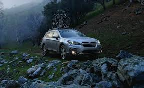 subaru tribeca 2017 interior 2018 subaru outback in depth model review car and driver