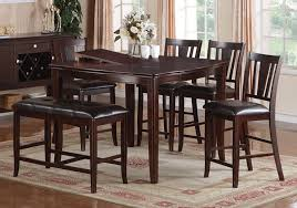 Dining Tables  Butterfly Leaves Plant Tile Top Dining Table With - Counter height dining table set butterfly leaf
