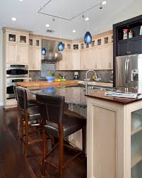 honey maple cabinets kitchen traditional with bamboo countertops