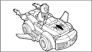 lego spiderman printable coloring pages archives new lego