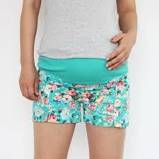 maternity shorts floral maternity shorts casual tree maternity