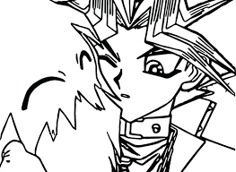 coloring page oh cartoons printable yu gi gx pages colouring free