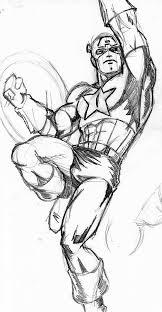 captain america sketch by ragnaroker on deviantart