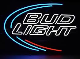 bud light lighted sign budweiser neon signs budweiser led 1950 budweiser neon clocks