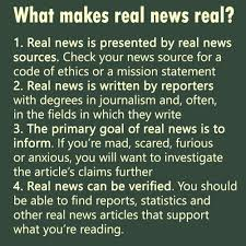 what is real news news s field library at