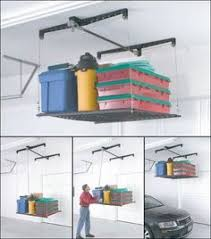 overhead garage storage hoist only 24 garage pinterest
