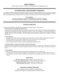 The Best Resumes by Procurement Resume The Best Resume
