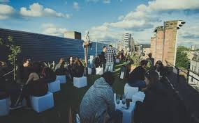 design event definition ra definition roof park with rocky xpress 2 at dalston roof park