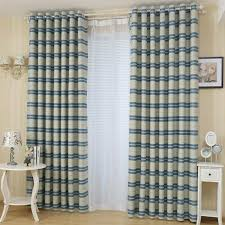 Blue And Striped Curtains Striped Curtains Panels Horizontal Striped Curtains Vertical