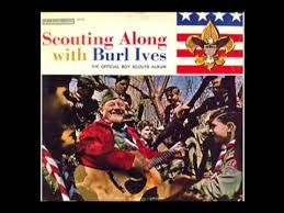 1960s official boy scouts album featuring burl ives excerpts
