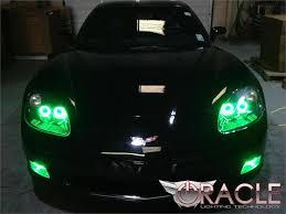 c6 corvette 2005 2013 oracle led headlight halo kit corvette mods