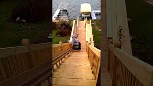 wonder lake outdoor stair lift install extended home living