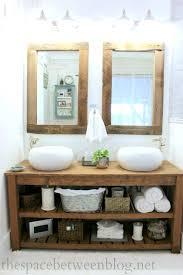 DIY Wood Vanity In The Master Bathroom - Bathroom vaniy 2