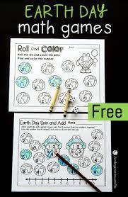 free printable earth day math games number sense math skills