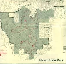 Garden Of The Gods Map Science Club Hiking Trails