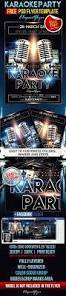 karaoke party u2013 free flyer psd template facebook cover u2013 by