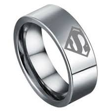superman wedding rings 8mm bridal mens superman tungsten engagement ring ceremony wedding