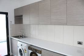 Stainless Steel Bench Top Residential New House Fit Out Custom Kitchen Company