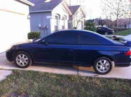 2003 honda civic ex parts sell used 2003 honda civic ex coupe 2 door 1 7l in wesley chapel