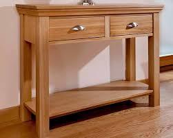 Unique Entry Tables Table Adorable Fine Oak Entry Table T Throughout Design Oak