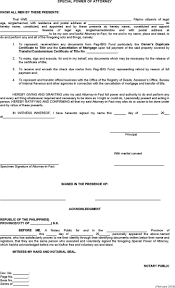 Power Attorney Form Free Download by Special Power Of Attorney Form Download Free U0026 Premium Templates