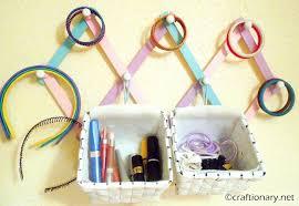 hair accessories organizer craftionary