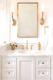 Brass Fixtures Bathroom Bathrooms With Gold Fixtures Gorgeous Marble Bathrooms With Brass