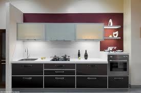 meuble de cuisine en verre revêtement de meubles de cuisine en verre glastetik
