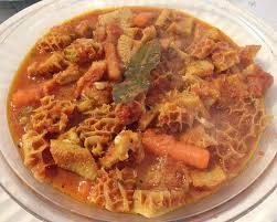 calabrian cuisine tripe di calabria or trippa con patate tripe and potatoes