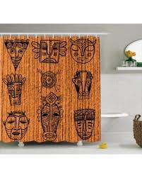 Shower Curtains Sets For Bathrooms by Spring Into This Deal On African Shower Curtain Set Ritual And