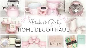 pink home decor u0026 essentials haul homegoods tj maxx kate