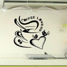 aliexpress com buy 2015 new design coffee lovers wall stickers