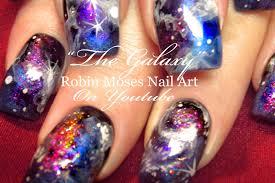 robin moses nail art galaxy nails