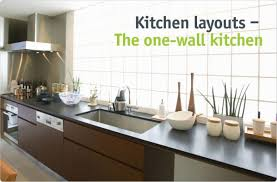 one wall kitchen designs with an island kitchen lovely one wall kitchen with island floor plans designs