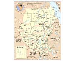 Eritrea Map Maps Of Sudan Detailed Map Of Sudan In English Tourist Map