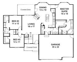 Floor Plans For Small Houses With 3 Bedrooms Best 25 Traditional House Plans Ideas On Pinterest House Plans