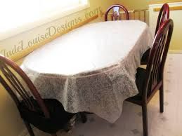 tablecloth for oval dining table tips how to protect your dining table and chairs from kids