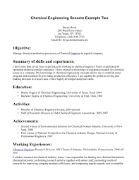 Sample Technical Report Engineering 15 Chemical Engineer Resume Samples To Help You Get The Job