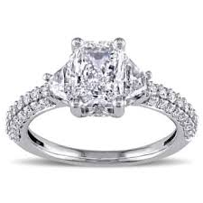 trillion engagement ring trillion engagement rings shop the best deals for dec 2017